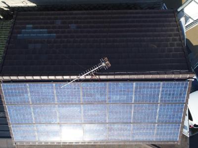 【撮影事例】弊社事務所太陽光発電パネル